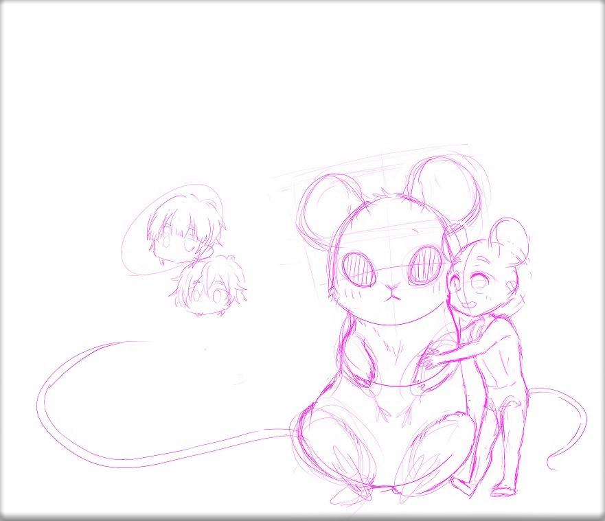 Colorful Rat